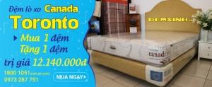 \'MUA 1 ĐỆM TẶNG 1 ĐỆM trị giá 12.140.000 VNĐ | Tin Khuyen Mai