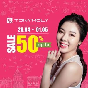 Mỹ phẩm Tonymoly giảm giá 50% mừng 30-4 và 1-5 | Tin Khuyen Mai