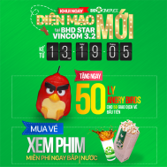 BHD Star tặng ngay 1 ly Angry Birds | Tin Khuyen Mai
