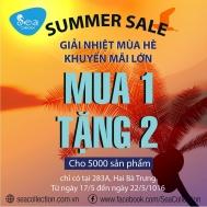 [TPHCM] Sea Collection khuyến mãi Summer Sale – mua 1 tặng 2, giảm giá 30-50% | Tin Khuyen Mai