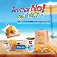 Lotteria Việt Nam ăn thật no giá khỏi lo   Tin Khuyen Mai
