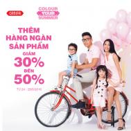 Canifa ưu đãi 50% hàng ngàn sản phẩm cho cả gia đình | Tin Khuyen Mai