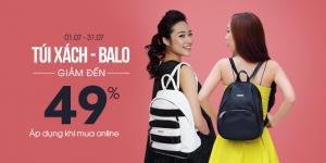Túi xách, balo Juno khuyến mãi tháng 7 giảm giá đến 49% | Tin Khuyen Mai