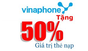 Vinaphone Khuyến Mại ngày vàng 07-07-2016: Tặng 50% giá trị thẻ nạp | Tin Khuyen Mai
