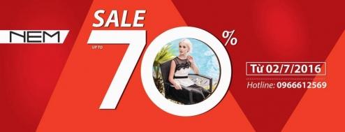 Thời trang NEM giảm giá lên tới 70% | Tin Khuyen Mai