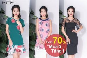 Thời trang Nem mua 5 tặng 1 trong tháng 7-2016 | Tin Khuyen Mai
