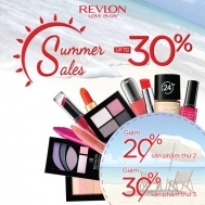 Mỹ phẩm Revlon giảm giá tới 30% – mua nhiều giảm nhiều | Tin Khuyen Mai