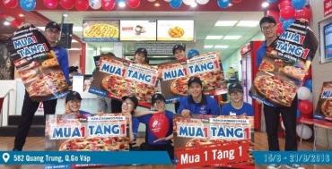 Dominos Pizza Vietnam MUA 1 TẶNG 1   Tin Khuyen Mai