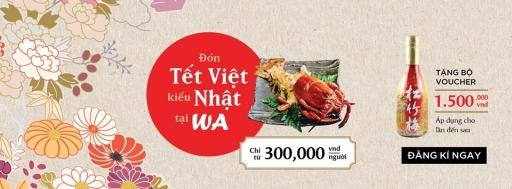 Khuyến mãi 2017 Nhà Hàng Wa Japanese Cuisine tặng voucher từ 900k khi dùng set Tôm Hùm | Tin Khuyen Mai