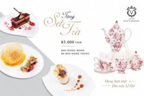 Khuyến mãi 2017 nhà Hàng De Vu Pastry & Restaurant set trà quà tặng trị giá 85K | Tin Khuyen Mai
