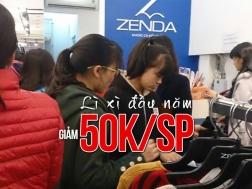 Khuyến mãi 2017 thời trang Zenda lì xì đầu năm giảm 50K/SP trong tháng 2-2017 | Tin Khuyen Mai