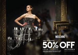 Khuyến mãi 2017 thời trang Moschino giảm giá 50% đầu năm 2017 | Tin Khuyen Mai