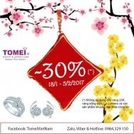 Khuyến mãi 2017 trang sức Tomei giảm giá 30% đầu năm 2017 | Tin Khuyen Mai