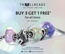 Khuyến mãi 2016 trang sức Trollbeads mua 3 tặng 1 đầu năm 2017 | Tin Khuyen Mai