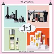 Mỹ phẩm Tonymoly mua 1 tặng 1 trong tháng 3-2017 | Tin Khuyen Mai