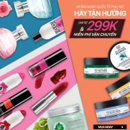 The Body Shop giảm giá 31% nhân dịp 8-3-2017 | Tin Khuyen Mai