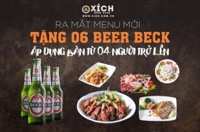 Khuyến mãi 2017 XÍCH Beer Club tặng bia miễn phí trong tháng 3-2017 | Tin Khuyen Mai